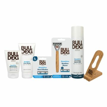 Sensitive Bamboo Shave & Skincare Bundle