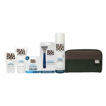 Sensitive Glass Shave & Skincare Bundle